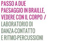 LABORATORIO DI DANZA-CONTATTO