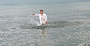 segni nell'acqua